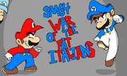 War of the fat italians by platinumhero813-d9ra67q