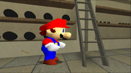Mario Goes to the Fridge to Get a Glass Of Milk 026