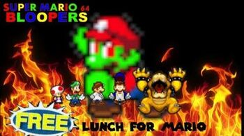 Super mario 64 bloopers Free lunch for mario