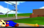 Mario is deadead by Magic