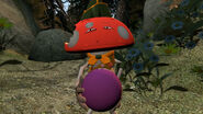 Strange man in the forest tellin' me to eat a mushroom