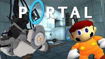 Portal M4R10 - If Mario was in..