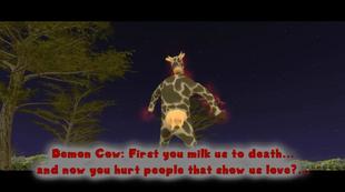 Demonic Cow