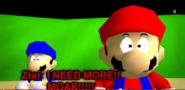 Mario and SMG4 shock