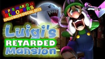 Super mario 64 halloween 2013 Luigi's retarded mansion