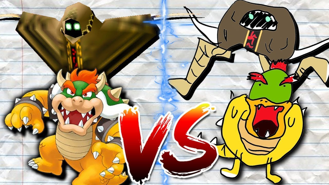 Smg4 Drawing Battle Mario Bowser Bob Saiko And Shroomy Supermarioglitchy4 Wiki Fandom