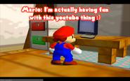 Mario's computer
