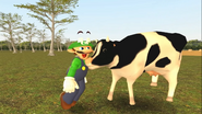 Mario Goes to the Fridge to Get a Glass Of Milk 215