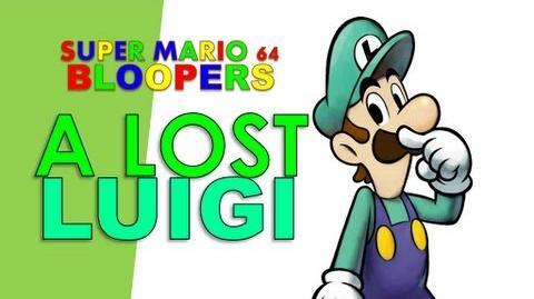 Super mario 64 bloopers a lost luigi