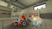 Mario Goes to the Fridge to Get a Glass Of Milk 019