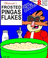 Frosted pingas cereal boxfront