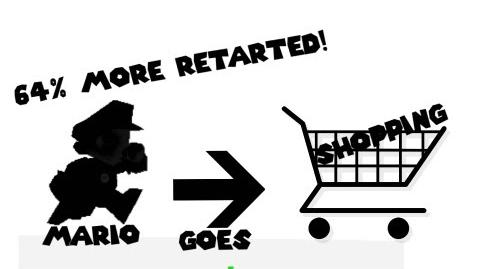 Retarded64: Mario Goes Shopping