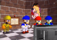 Sm64 starman, smg4, mario, and enzo