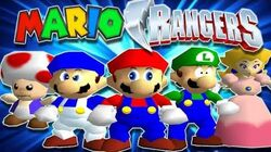 Mighty Morphin' Mario Rangers