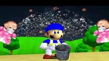 Smg4 vs ALS Ice bucket challenge