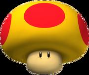 Mega Mushroom Artwork - New Super Mario Bros