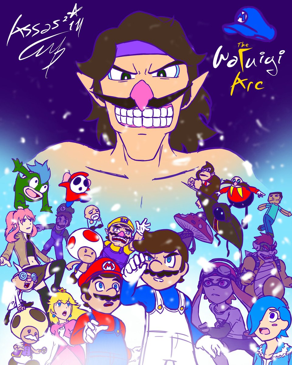 The Waluigi Arc | SuperMarioGlitchy4 Wiki | FANDOM powered by Wikia