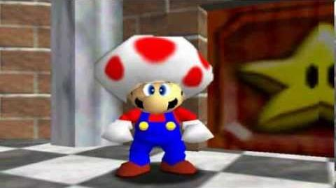 Super mario 64 bloopers A Fungus Among us