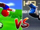 All Super Mario 64 Moves In Real Life - HITBOX