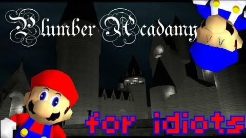 Super mario 64 bloopers plumber academy for idiots