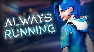 Meta Runner - Always Running - AJ DiSpirito ft. MattxAJ (Lyric Video)
