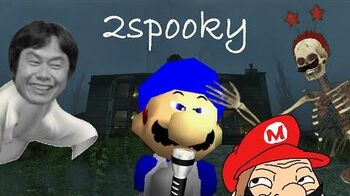 SM64 halloween 2015 The 2Spooky story