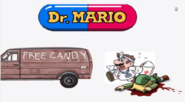 Free Candy Van with Mario and a Dead Link