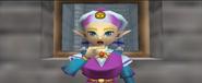 Zelda in Ocarina of Time