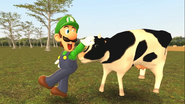 Mario Goes to the Fridge to Get a Glass Of Milk 214