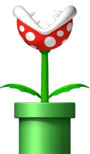 Piranha Plant - New Super Mario Bros