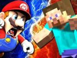 SMG4: Mario VS Steve