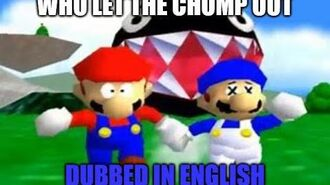 Super Mario 64 Bloopers DUBBED - Who Let The Chomp Out 🦴-1