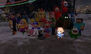 Christmas with the SMG4 gang