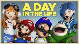 SMG4 A Day In The Life Of Everyone