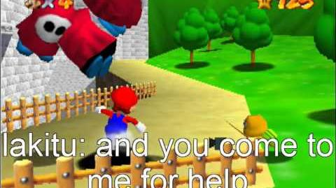 Super Mario 64 Bloopers: A Random Day