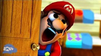 SMG4 Mario Gets His PINGAS Stuck In The Door