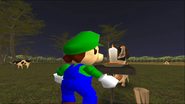 Mario Goes to the Fridge to Get a Glass Of Milk 243