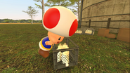 Mario Goes to the Fridge to Get a Glass Of Milk 206