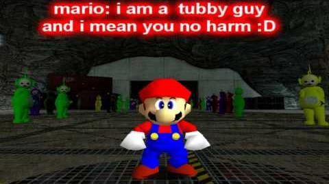Super Mario 64 Mloopers A trip to Teletubbie Land