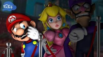 SMG4 Mario Waits in Line For Some Spaghetti