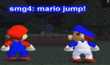 Mario & Smg4 vs Herobrine