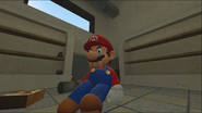 Mario Goes to the Fridge to Get a Glass Of Milk 053