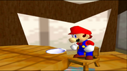 Mario Goes to the Fridge to Get a Glass Of Milk 003
