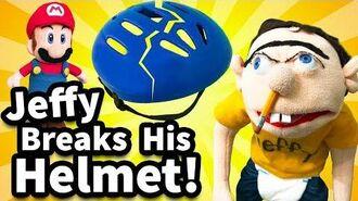 SML Movie Jeffy Breaks His Helmet!