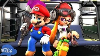 SMG4 If Mario Was In... Splatoon 2