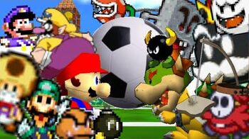 SM64 bloopers Smexy Soccer