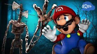 SMG4 Mario VS Siren Head