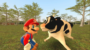 Mario Goes to the Fridge to Get a Glass Of Milk 223