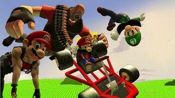 Retarded64 Mario for Hire