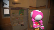 Mario Goes to the Fridge to Get a Glass Of Milk 062